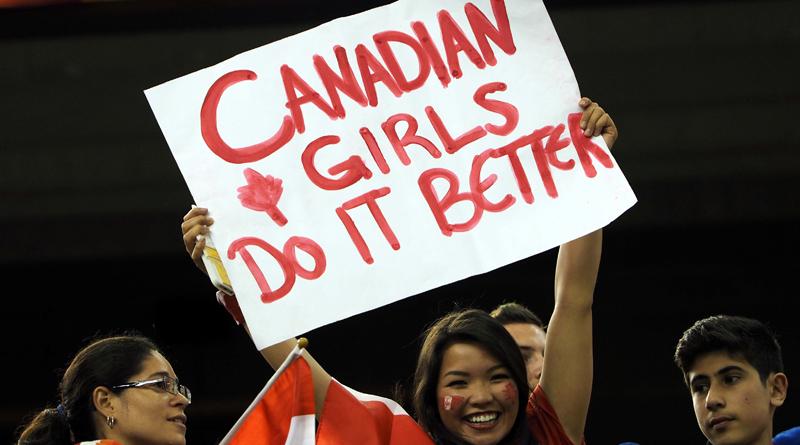 Bronze für Kanada